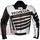 Excellent Pure Cowhide Leather Jackets For Professional Bikers ... Honda 9019 Brown