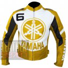 Best Option To Choose For Professional Racers Yamaha 6 Yellow Cowhide Jacket