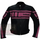 New Arrival Pure Cowhide Leather Jackets For Ladies ... Yamaha 0120 Pink
