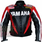 Yamaha 0287 Red Genuine Cowhide Leather Jackets For Bikers By ButtCo Group
