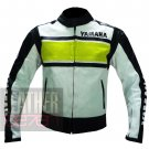 New Arrival Classic Pure Cowhide Leather Jacket .. Yamaha 5241 Fluorescent