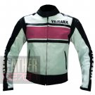 New Arrival Cowhide Leather Racing Jackets For Ladies ... Yamaha 5241 Pink