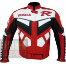 Racing Safety Genuine Cowhide Leather Coats .. Yamaha R6 Red Jackets