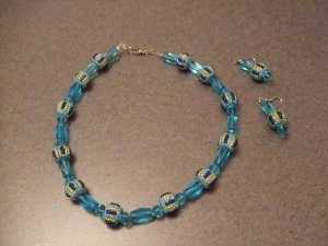 Light Aqua Blue necklace