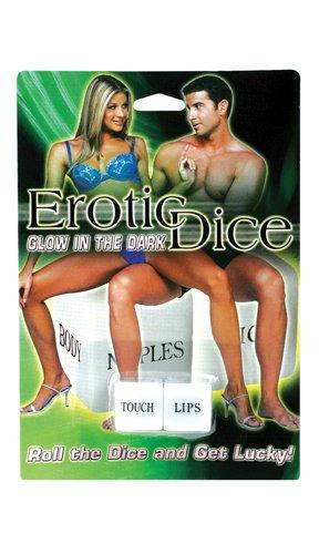 Glow-In-The-Dark Erotic Dice Game