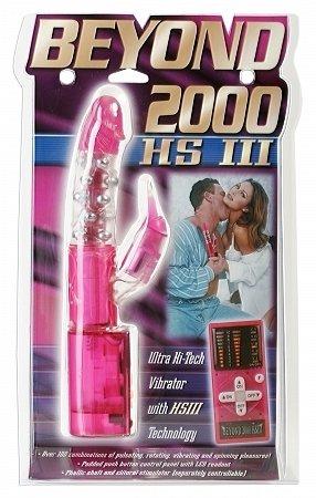 Beyond 2000 HS3 Multi-Function Vibe - Pink