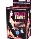 Velvet 4 inch Bullet - Black