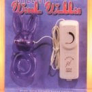 Rabbit Clit Stimulator Ring -Purple