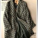 Swallow gird woolen cadigan short coat outwear Woman oversized coat