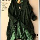 tea green woolen cardigan coat winter overcoat plus size outwear