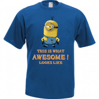 Despicable Me Minion This Is What Awesome Looks Like Men�s T-Shirt