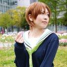 Kuroko No Basketball Aida Riko short brown anime cosplay party full wig