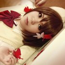 PUPA Yume Hasegawa short brown anime cosplay party full wig