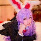TouHou Project Reisen Udongein Inaba long straight light purple anime cosplay party full wig
