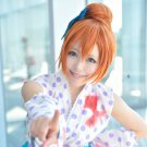 Love Live! Kousaka Honoka orange Bun anime cosplay party full wig