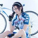 Yowamushi Pedal Toudou Jinpachi short black red anime cosplay party full wig