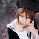 Rozen Maiden sou sei seki short brown anime cosplay party full wig