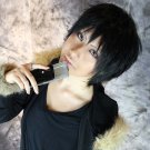 DuRaRaRa!! Orihara Izaya short black anime cosplay party full hair wig