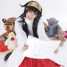 HUNTER HUNTER Aluka Zoldyck long straight black anime cosplay party full hair wig