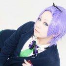 Starry Sky Tsubasa Amaha short purple anime cosplay party full hair wig