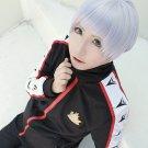 Free Aiichirou Nitori short silver white anime cosplay full wig