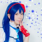 LoveLive! Sonoda Umi long 100cm straight dark blue anime cosplay full wig