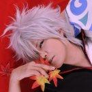 GIN TAMA Silver Soul Sakata Gintoki silver white Cosplay Short Wig