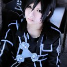 Sword Art Online Kirigaya Kazuto short black cosplay anime full hair wig