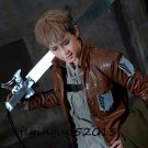 Attack on Titan Jean Kirstein Short Linen Brown Mixed Cosplay Costume Wig