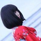 HUNTER HUNTER KALLTT ZAOLDYECK short black cosplay anime full wig