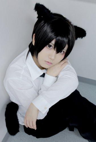 LOVELESS AOYAGI RITSUKA short black cosplay anime full hair wig  not include ears