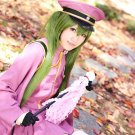 Vocaloid Hatsune Zatsune Miku Olive Green Cosplay Wig With 2 Clips 120CM Ponytails
