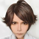 Haikyuu volleyball guys oikawa tooru brown short cosplay wig
