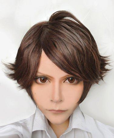 Haikyuu volleyball guys oikawa tooru brown short cosplay wig