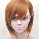 Misaka Mikoto K-ON Hirasawa Yui brown short cosplay costume wig