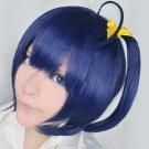 Cyuunibyou Demo Koigashitai Rikka Takanashi blue purple short  anime cosplay wig