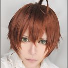 Cyuunibyou Demo Koigashitai Yuta short brown anime cosplay party full hair wig