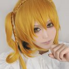 Kagerou Project KISARAGI MOMO braid blonde cosplay wig