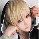 Kagerou Project MekakuCity Actors Kano Syuuya blonde short costume cosplay wig