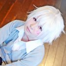 future city No.6 Shion Kaneki Ken short pure white anime cosplay wig