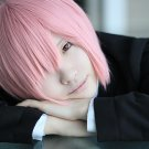 ACE of Diamond Kominato Haruichi short pink anime cosplay wig