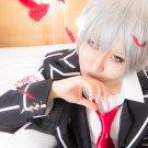 Vampire Knight Kiryuu Zero short silver white anime cosplay wig