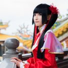 Shin Sangokumusou 7 DAQIAO black cosplay wig