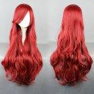 Bounty Hunter Little Mermaid Ariel long 80cm curly red cosplay wig