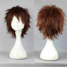 future city No.6 Shion short brown anime cosplay wig