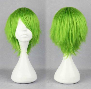 LOVELESS Kaidou Kio Aoba Kouyou short green anime cosplay wig