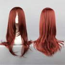 D Gray-Man Cross Maria 60cm long anime cosplay wig