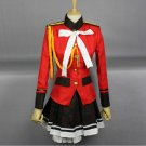 Amagi Brilliant Park Sento Isuzu anime cosplay uniform costume clothes
