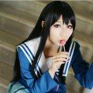 Kyokai no Kanata Nase Mitsuki long straight 80cm black anime cosplay wig