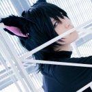 Loveless Beloved short black anime cosplay wig
